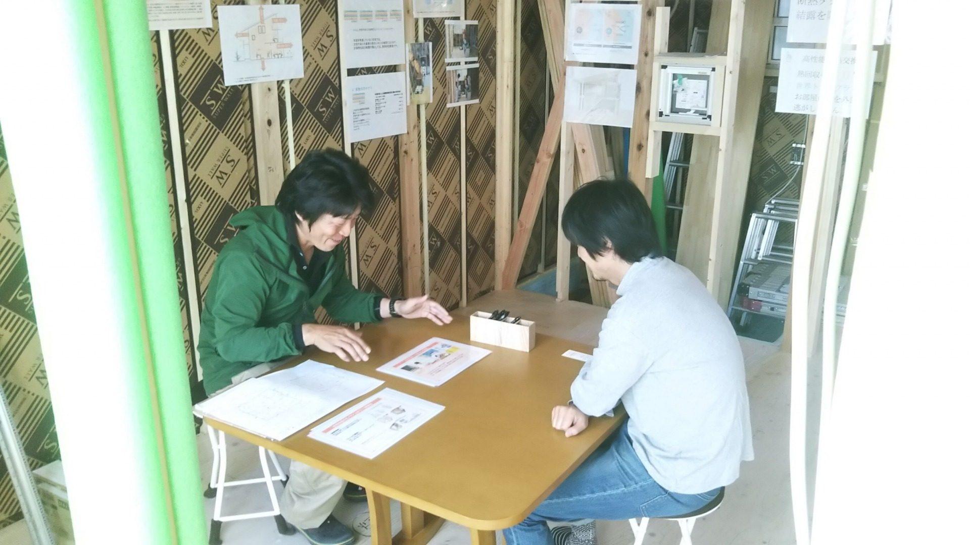 2018年10月21日開催松川村SW工法構造見学会の画像1