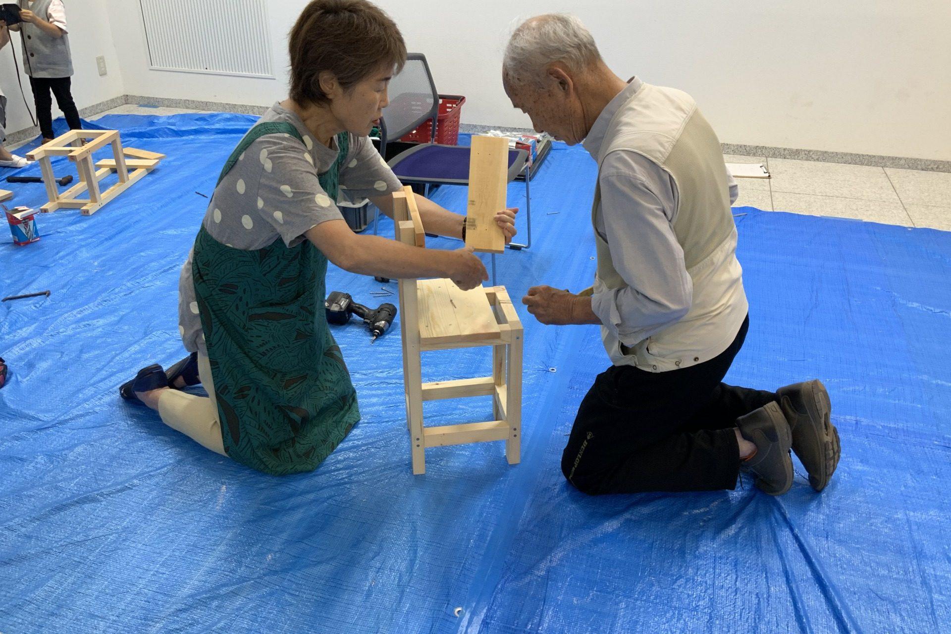 いす造り木工教室 2019/8/31の画像3