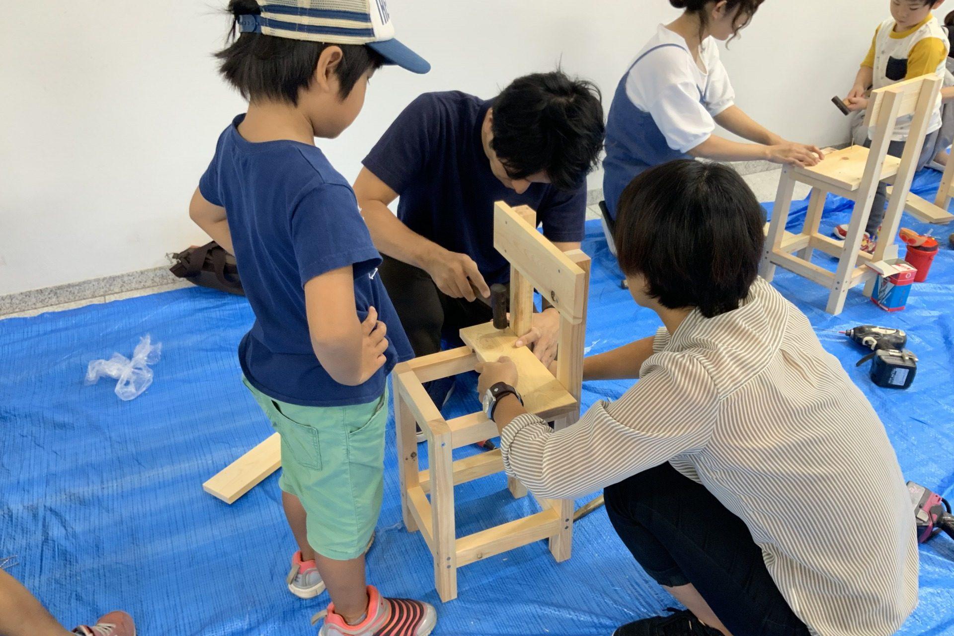 いす造り木工教室 2019/8/31の画像6
