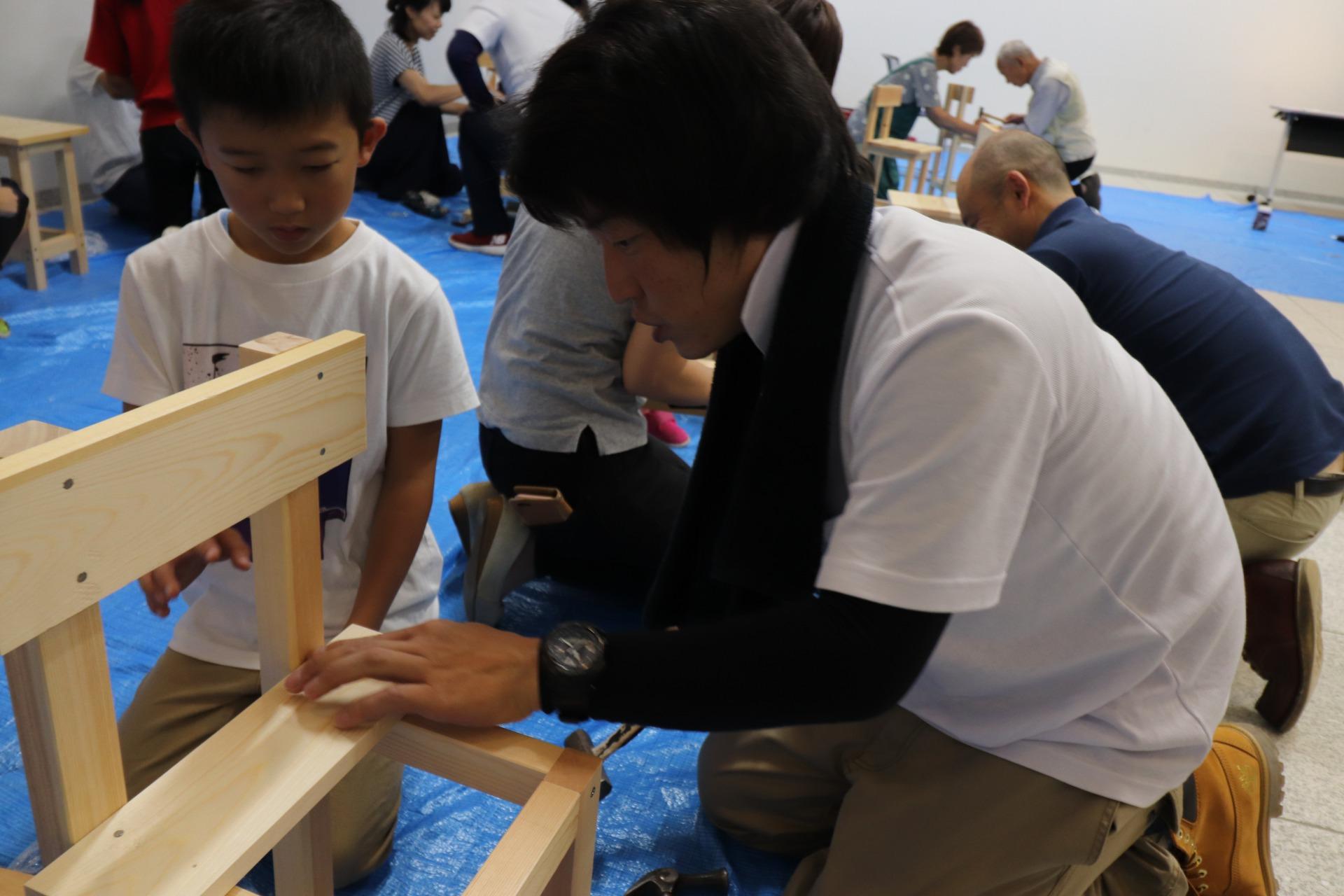 いす造り木工教室 2019/8/31の画像10