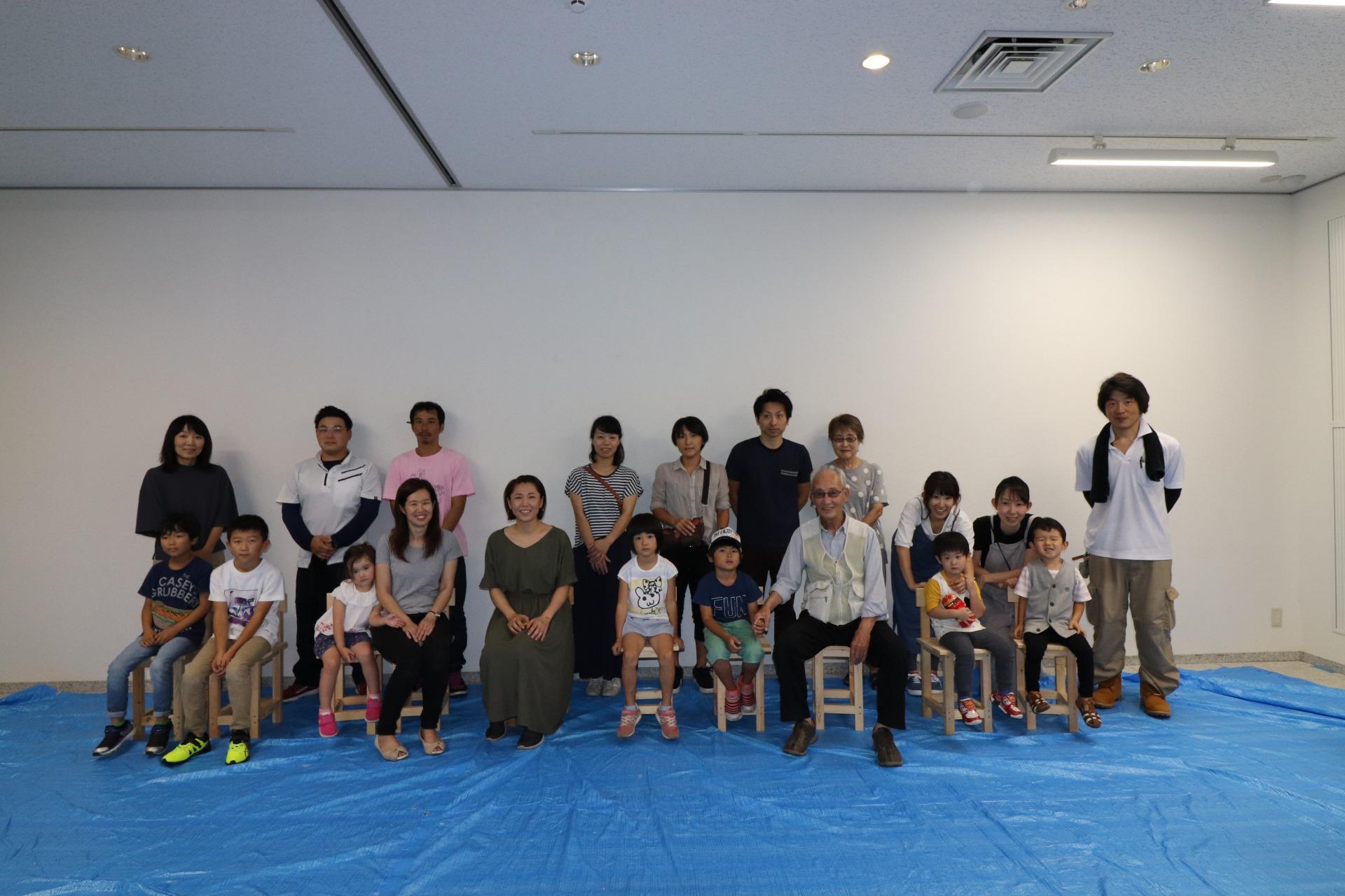 いす造り木工教室 2019/8/31の画像11