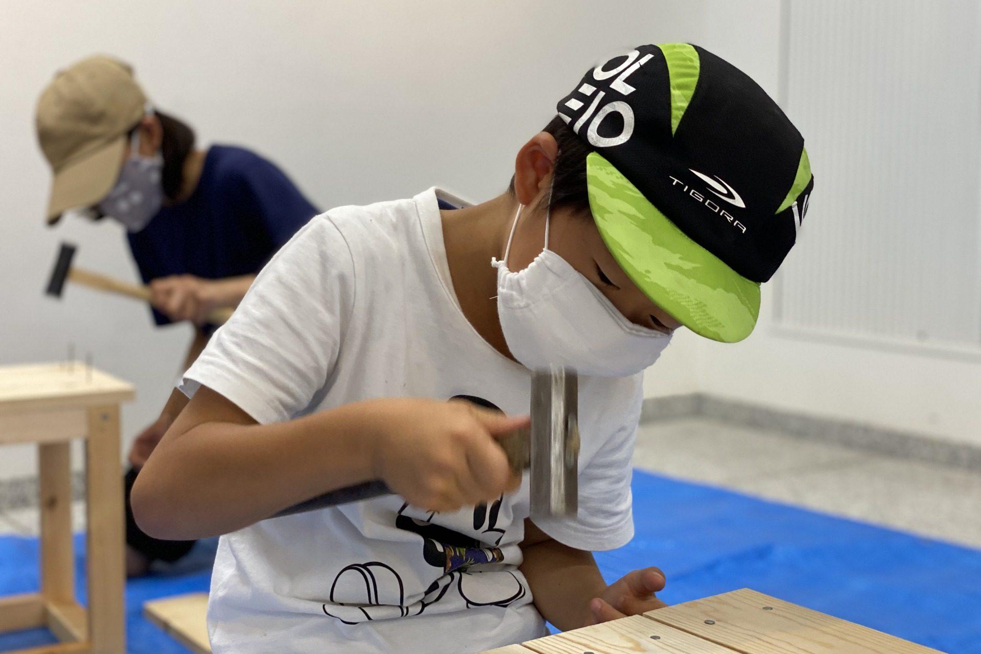 2020年8月30日開催 いす作り木工教室の画像5