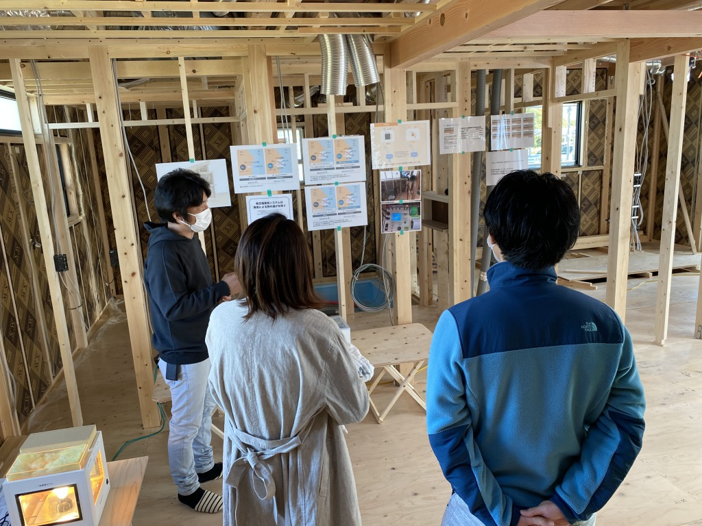 2020年10月25日開催安曇野市豊科構造見学会の画像1