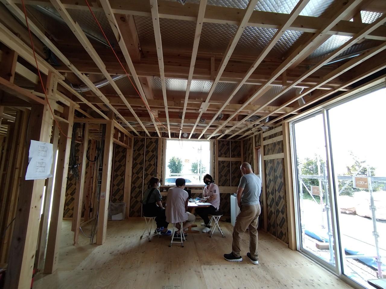 2021年8月1日開催安曇野三郷構造見学会の画像5